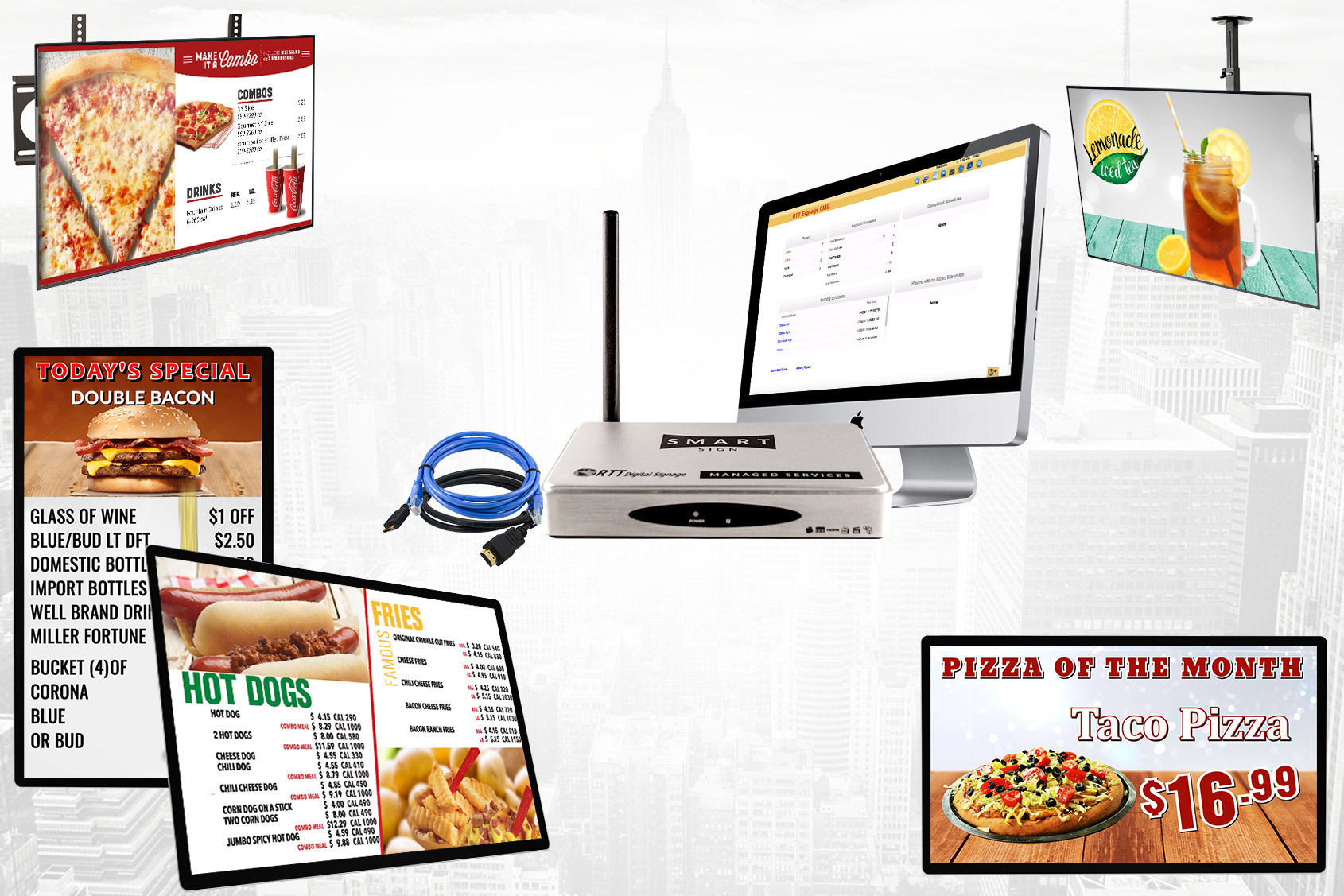 Digital Signage All In One - RTTDigital Signage