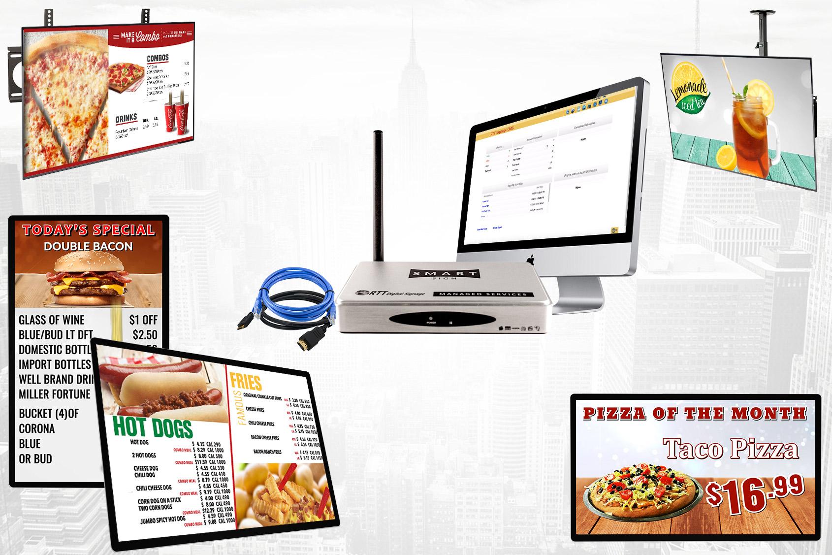 Digital Signage All In One - RTTDigital Signage